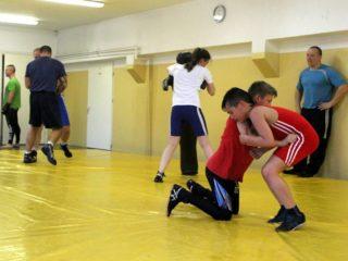 Sekcja zapasów - ćwiczenia siłowe