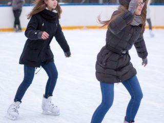 Dziewczyny na łyżwach